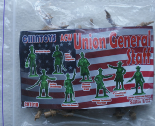 Chin Toys 1/32 CT010 Union General Staff Set 1 (ACW)